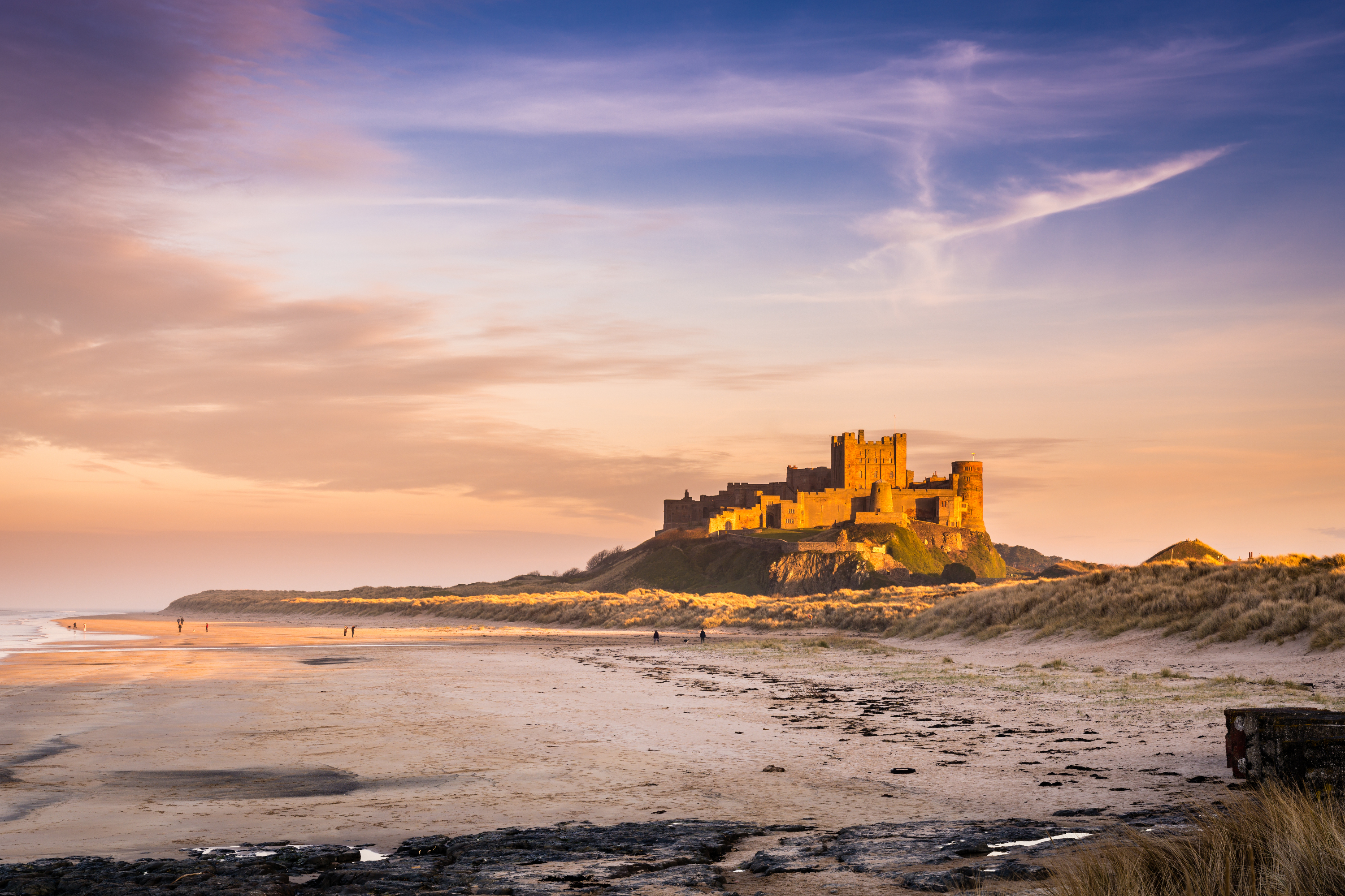 Bamburgh Castle, Northumbria