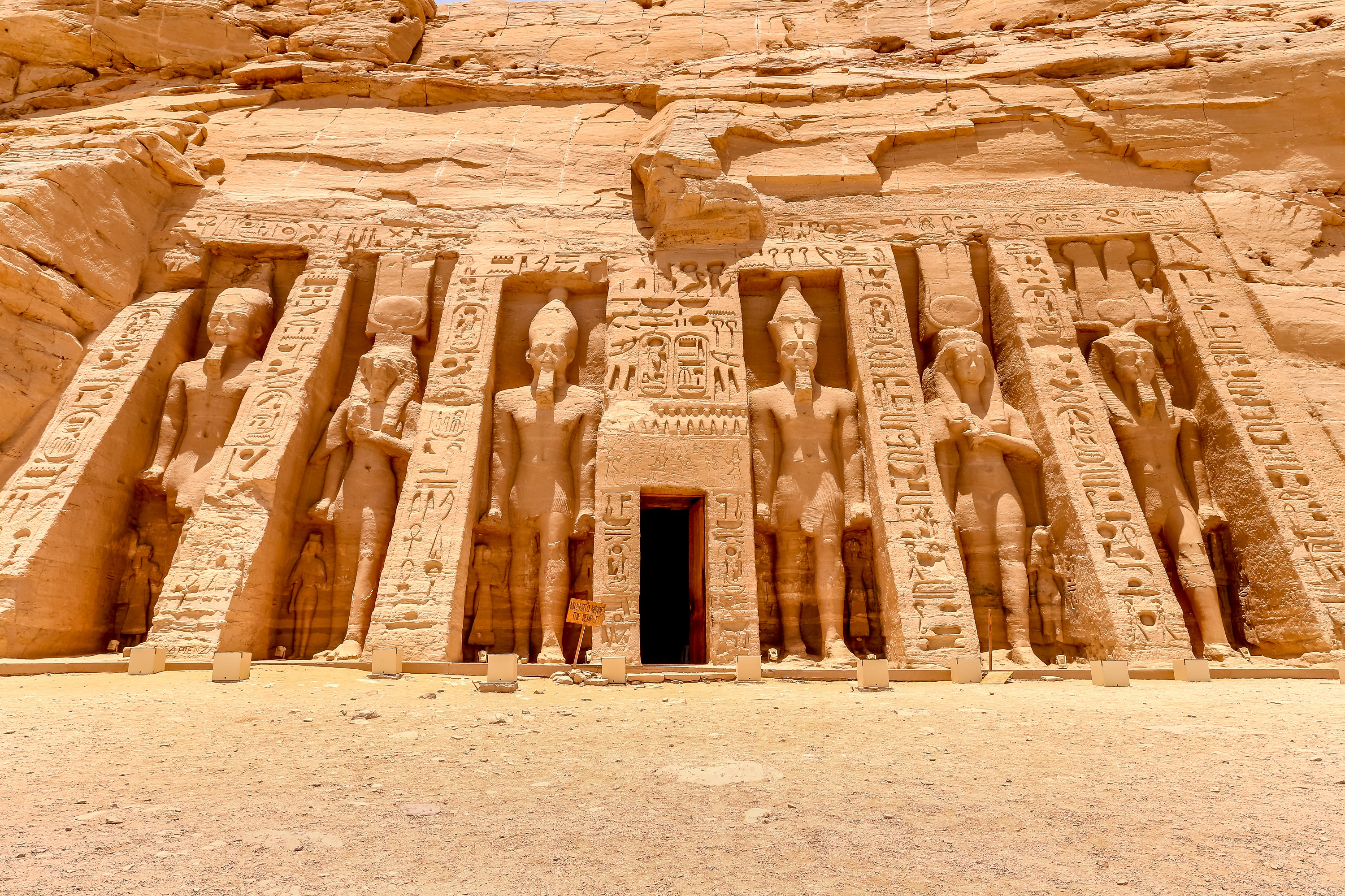 The Temple of Hathor and Nefertari