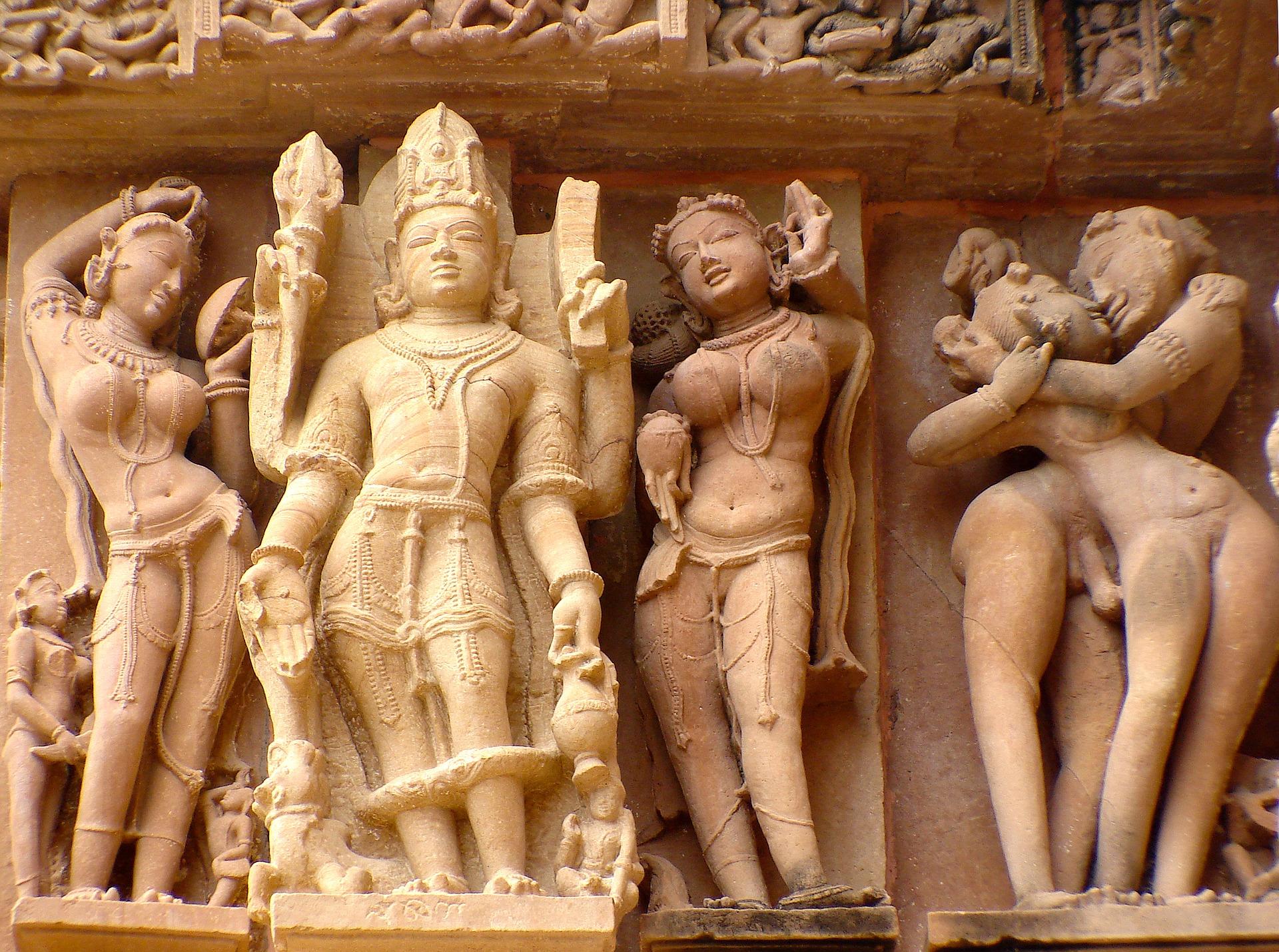 Erotic Sculptures In Indian Temples