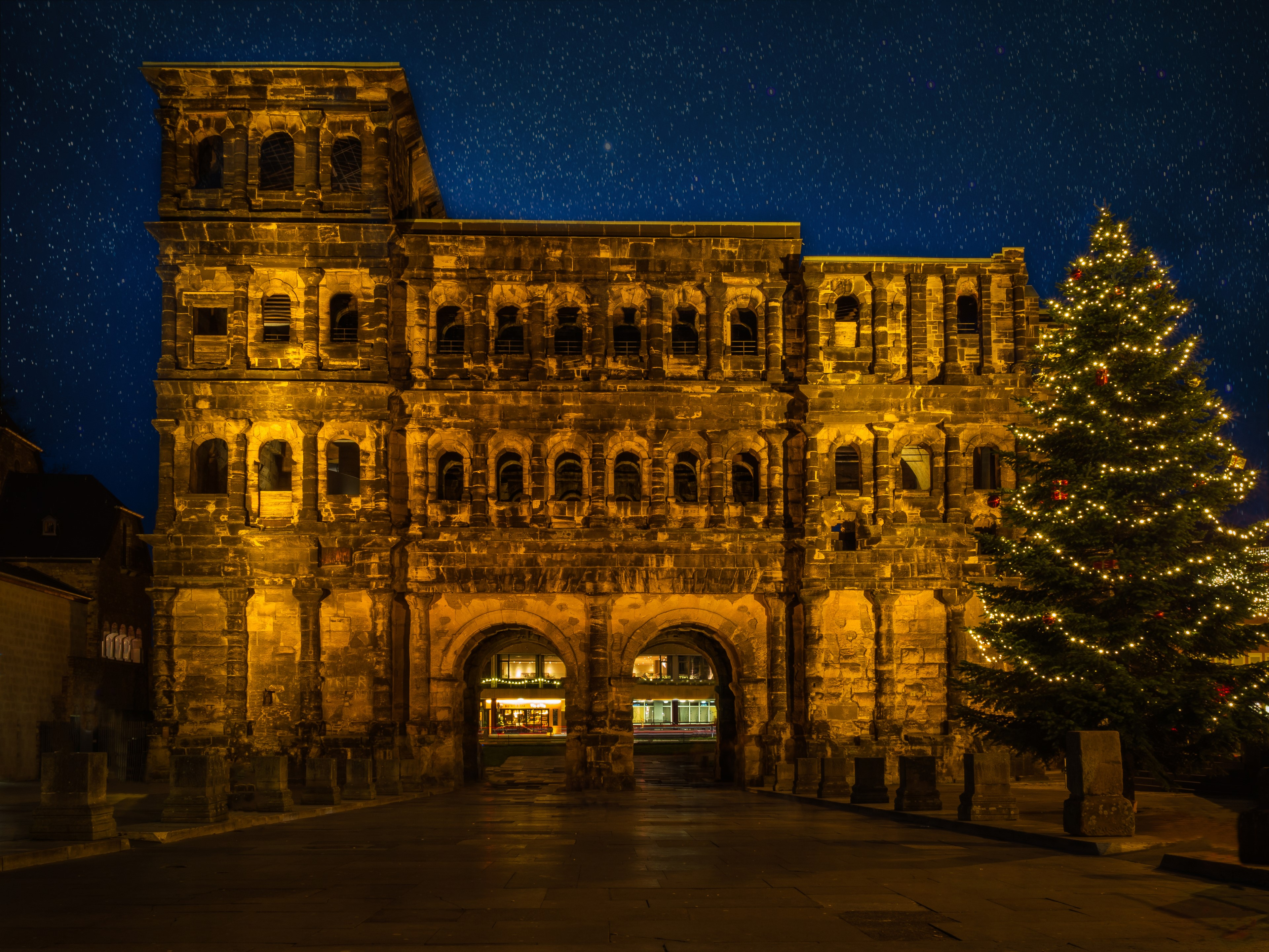 Christmas Market In Trier Germany